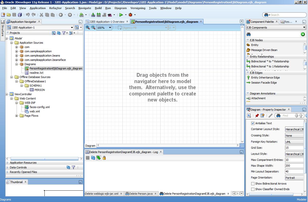 Oracle jdeveloper 11g - first hand on ejb/jpa development